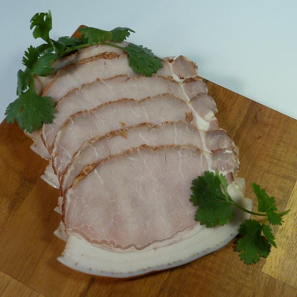 Nitrite free bacon